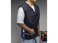 Vortex Cooling Vest complete with Vortex Cooler – Standard or Fire Resistant (FR)