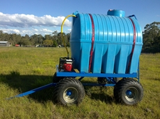 OZ Turners mobile water supply wagon