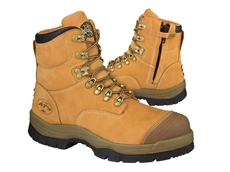 The zip on the exterior side is designed to allow fast donning and removal of the boot