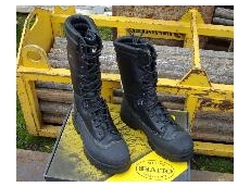 New mine safety boots