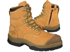 The boots are available in sizes from 4 to 14 with half size increments (6 ½ to 10 ½).