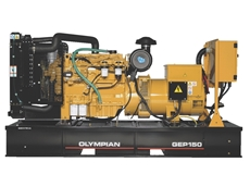 Olympian Generators' GEP 150 genset used as emergency back-up power generator at Tasmania's Bellerive Oval