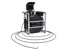 The Olympus iPLEX YS videoscope with laser light source and 30m probe
