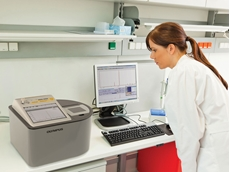 The BTX Profiler in use in a biochemical laboratory