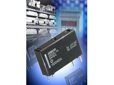 G6DS ultra-slim relay for high density monitoring in industrial control equipment.