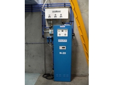 The nitrogen generator used in food packaging plant