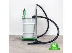 Super Dragin Pump Is the Tiny Power Packed Device Saving Valuable Hours In Workshop And General Clean Up Time.