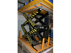 Automatic Double Scissor Lift Table
