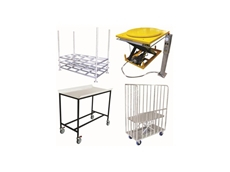 Optimum Handling Solutions comprehensive range includes a wide variety of different trolleys and lifting equipment