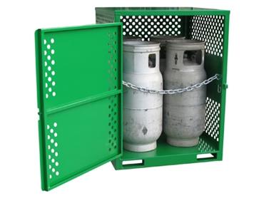 FLPGS04 Heavy Duty Forklift LPG Cylinders Stores