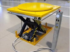 Electric Scissor Lift with Turntable