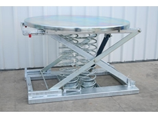 Zinc-Plated Scissor Lift Table