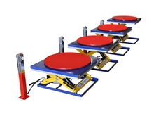 Optimum Handling Solutions offers scissor lift tables for de-palletising