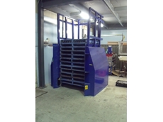 Pallet dispenser from Optimum Handling Solutions