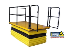 Hydraulic scissor lifts from Optimum Handling Solutions