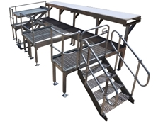 Pallet Safety Gates and Platforms from Optimum Handling Solutions