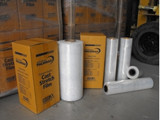 Palwrap cast pallet wrapping film from Optimum Handling Solutions generates film savings