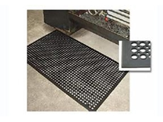 Safety cushion matting is ideal for wet and dry areas
