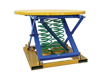 PE1200PC Pallet Elevator Fully Extended