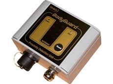 The BodyGuard proximity alarm system
