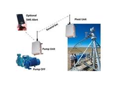Wireless irrigation monitoring systems