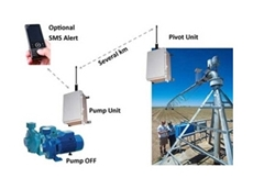 Wireless irrigation monitoring systems have many benefits
