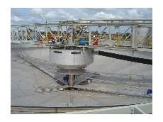 A feedwell in a high rate thickener