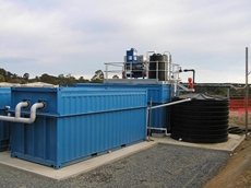 Deployable MBR Wastewater Treatment System