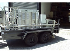 Self contained double axle mounted Ozone Systems