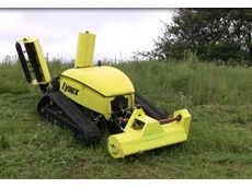 Lynex GT1500 remote controlled slope mower