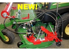 Trimmer attachment for mowers