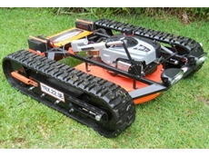 Summit remote control slope mower