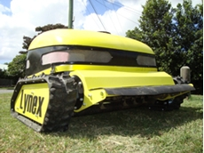 Remote controlled Lynex slope mowers