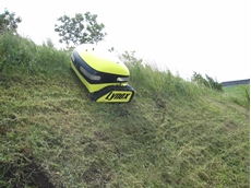 Remote controlled slope mowers from Oz Turners and Mulchers