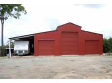 Barns from Ozsteel Garages and Sheds