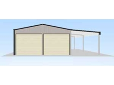 Large garages and farm sheds at affordable prices now from Ozteel Garages and Sheds