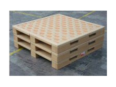 Paperboard, cardboard pallets