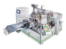 Stand up pouch machines are available in 6, 8 and 10 station carousels