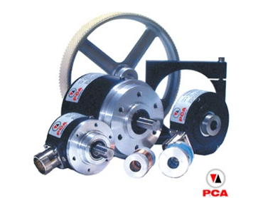 PCA manufactures and distributes a large range of incremental shaft encoders