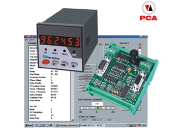 PCA are suppliers of wide range of electronic control modules and measuring instruments for both rail and panel mounting