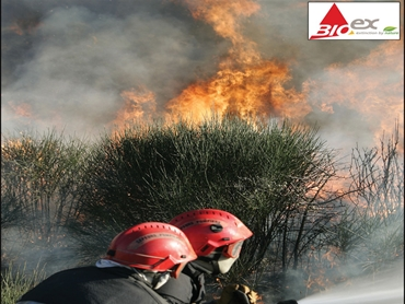 Fire Fighters using Bio Ex
