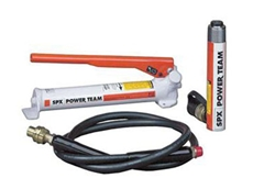 Porta-power kits come standard with a 1.8m rubber hose and all couplings