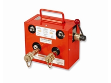 Power Team hydraulic booster pump