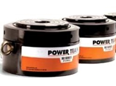 Power Teams pancake cylinders available from PT Hydraulics Australia