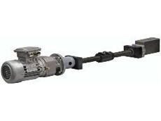 Motor flanges, screws and nuts