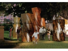 Pace Pallet Services supply materials for Sydney Vivid Festival sculpture