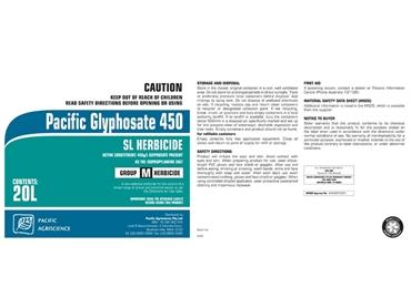 Pacific Glyphosate 450