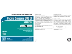 Simazine 900 DF Herbicide from Pacific Agriscience