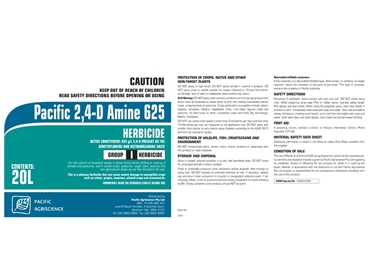 2,4-D Amine 625 Herbicide