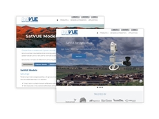 The new SatVUE Smart Remote Monitoring website